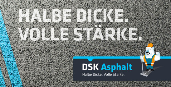 DSK Asphalt - Das Innovationsprodukt